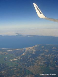 O Rio Mondego e o litoral junto à Figueira da Foz - PORTUGAL