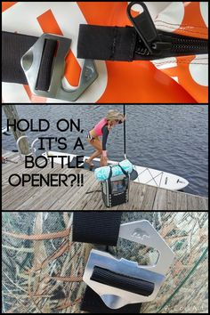 Hold on, it's a Bottle Opener?!! PolarBearCoolers.com