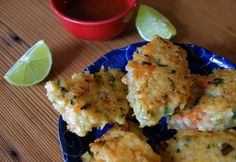 Shrimp and Coconut Fritters #whole30 #paleo