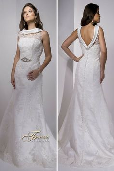 Fitted Slinky Wedding Dress with a Flare by Finesse Bridal Wear in Listowel, Co Kerry #FitandFlare