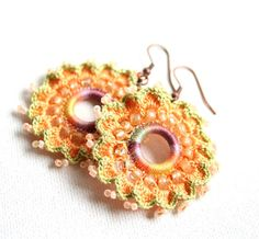 knottherapy rev crochet earrings