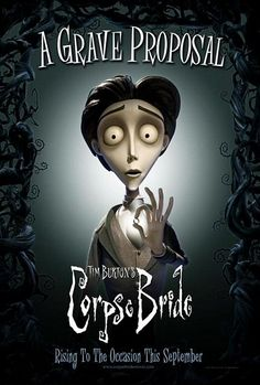 TB073. Victor Van Dort / Corpse Bride / Movie Poster by BLT COMMUNICATIONS, LLC ( (2005) / #Movieposter