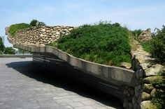 Finally got to see more than a picture. The Irish Hunger Memorial, NYC