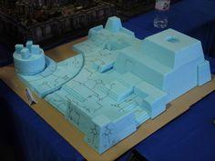 The wonders of Dow Blueboard foam!