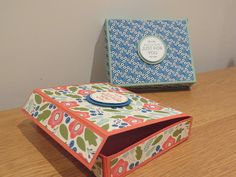 CraftyCarolineCreates: September 2015 - No-Cut Magnetic Gift Box