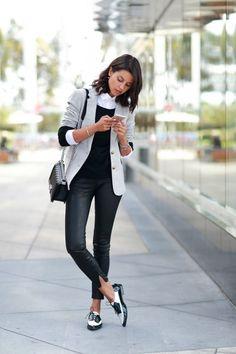 Leather pants/VivaLuxury