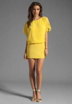 Yellow Dress, easter?