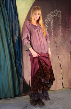 It's a marvelous night for a moondance. Beautiful clothes from Gypsy Moon.