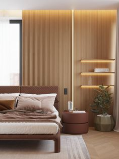 Here are 8 ways to maximize the space in a small bedroom. Kitchen Dining Living, Luxurious Bedrooms, Decoration, Sweet Home, Bedroom Decor, House Design, Interior Design, House Styles, Instagram