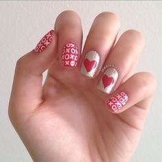Valentine's Day Nails.♡