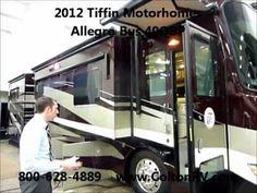 2012 Tiffin Motorhomes Allegro Bus 40QBP, Class A Diesel Motorhome