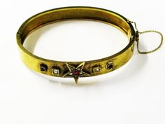 We've got Star Quality!  #Victorian #Ruby #Diamond #Bracelet