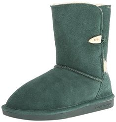 BEARPAW Womens Victorian Snow BootEmerald9 M US *** Click image for more details.