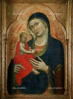 Pittore ambito senese - Madonna del Bosco - Cattedrale di S.Nicola a Sassari