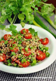 Moje Dietetyczne Fanaberie: Wyzwanie roślinne 7/7 - komosa z warzywami i podsumowanie