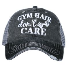 Hat {Gym hair don't care}