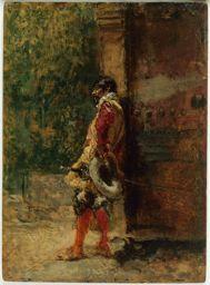 Mariano Fortuny y Marsal Spanish, 1838-1874, Cavalier
