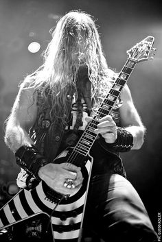 Zakk Wylde & Black Label Society  - Teatro Flores by AdlerGuido, via Flickr
