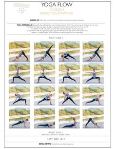Check out @TheFoodClick's #PracticeAnywhere #Yoga Flow & #Meditation Sequence. #GetGrounded while you're snowed in!