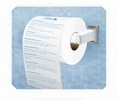 Shitter : Print your twitter timeline on toilet paper !