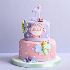 Beyaz Fırın - kutlama pastalari - doğum günü pastalari - çocuk - 47 kelebekler