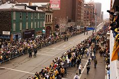 Steeler Nation - Wikipedia, the free encyclopedia (awesome! Steelers Win, Pittsburgh Steelers Football, Pittsburgh Sports, Pittsburgh Penguins, Nfc Teams, Professional Football Teams, Parade Route, Afc Championship, Lets Go Pens