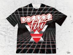 """BooBooTiti """"Red Grid"""" Men's Crew Neck T-Shirt by Pulse Of Prophets Part of the BooBooTiti x Pulse Of Prophets collaboration series This piece is printed exclus Neck T Shirt, Grid, Vibrant Colors, Street Wear, Crew Neck, Pop, How To Wear, Clothes, Outfits"""