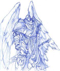 primarch sanquinius by ~moorkasaur on deviantART