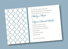 Create Your Own Wedding Invitation Suite 12
