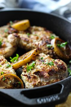 Have this lemon butter chicken on your table tonight in less than 30 minutes!