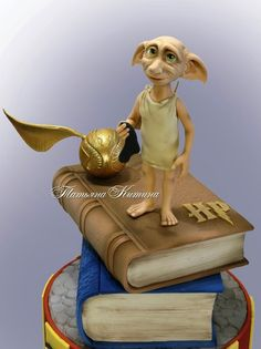 Dobby Harry Potter, Bolo Harry Potter, Harry Potter Thema, Harry Potter Food, Harry Potter Characters, Harry Potter Theme Cake, Harry Potter Treats, Harry Potter Birthday Cake, Harry Potter Drawings