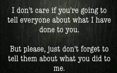 EXACTLY! But that is always the part you forget to mention.....