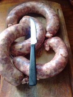 Chorizo Argentino de puro cerdo casero (con variantes)