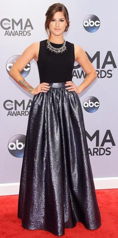 The Best Looks From the 2014 CMA Awards - Cassadee Pope from #InStyle