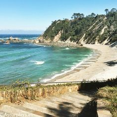 Castello beach, awesome place to discover and explore! This is #Asturias, #Spain!