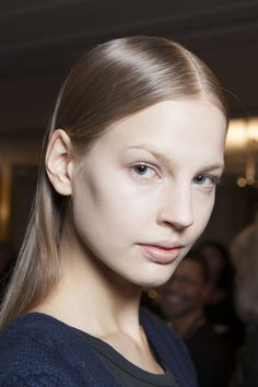 Theyskens' Theory runway hair  Courtesy Greg Kessler