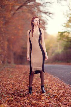 Alpaca Dress by spencerbylizspencer on Etsy, $635.00