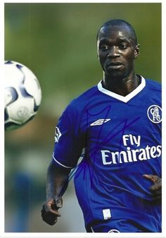 Claude Makelele Fc Chelsea, Soccer Ball, Legends, Football, My Favorite Things, Sports, Futbol, American Football, European Football