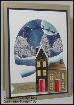 """Stampin' Up! """"Holiday Home"""" stamp set ..."""