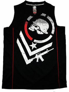 Metal Mulisha T-Shirt Top Tank THREAT TANK Schwarz