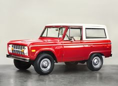 Ford Bronco 66- 77 Uncut Beauty! <3!