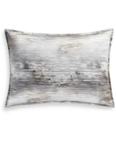 Hotel Collection Iridescence King Sham, Created for Macy's - Gray Hotel Collection Bedding, Metallic Yarn, Quilted Bedspreads, Subtle Textures, Abstract Styles, Pillow Shams, Duvet, Pillows, Bedding Collections