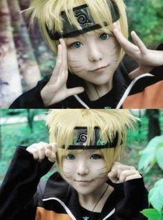 cute Uzumaki Naruto cosplay ♥