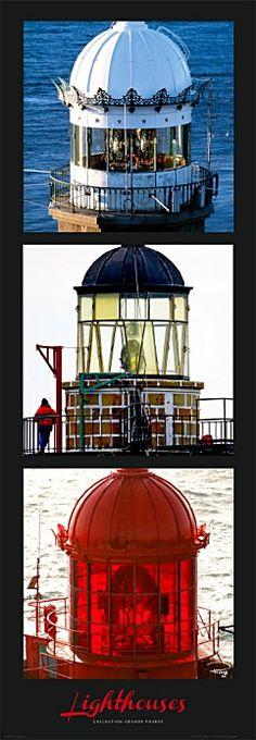 Lanternes de phares - Bretagne
