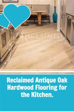 Looking for kitchen floors? Reclaimed Antique Oak is the perfect choice. #woodfloors #kitchenfloors #floorsforpets Reclaimed Hardwood Flooring, Hardwood Floors, Kitchen Floors, Antiques, Inspiration, Wood Floor Tiles, Floors Kitchen, Antiquities, Biblical Inspiration