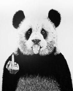 Panda painting - Banksy🐼 Banksy panda painting black and White art Banksy Images, Panda Painting, Cool Panda, Panda Images, Panda Wallpapers, Banksy Graffiti, Lion Wallpaper, Panda Art, Hypebeast Wallpaper