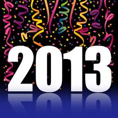 Out with the old, In with the new!  Great things ahead in 2013!  Happy New Year!