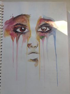 Gcse sketchbook by noah walton gcse art sketchbook, sketchbook ideas, human sketch, drip Gcse Art Sketchbook, Sketchbook Ideas, Human Sketch, Watercolor Art Face, Weird Art, Strange Art, Ap Studio Art, Collage, Weird And Wonderful