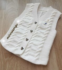 Crochet Clothes For Babies 8 - Crochet Filet Crochet Clothes, Barbie, Sweaters, Fashion, Baby Vest, Moda, La Mode, Sweater