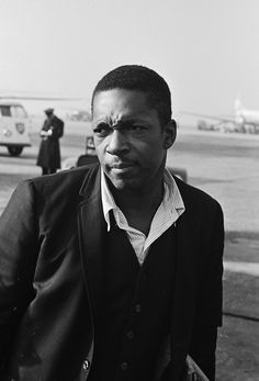 John Coltrane  see   http://www.pinterest.com/ianleslie1460/take-the-coltrane/